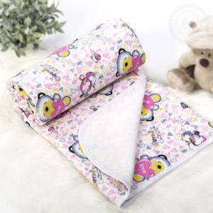 Детские трикотажные одеяла-покрывала